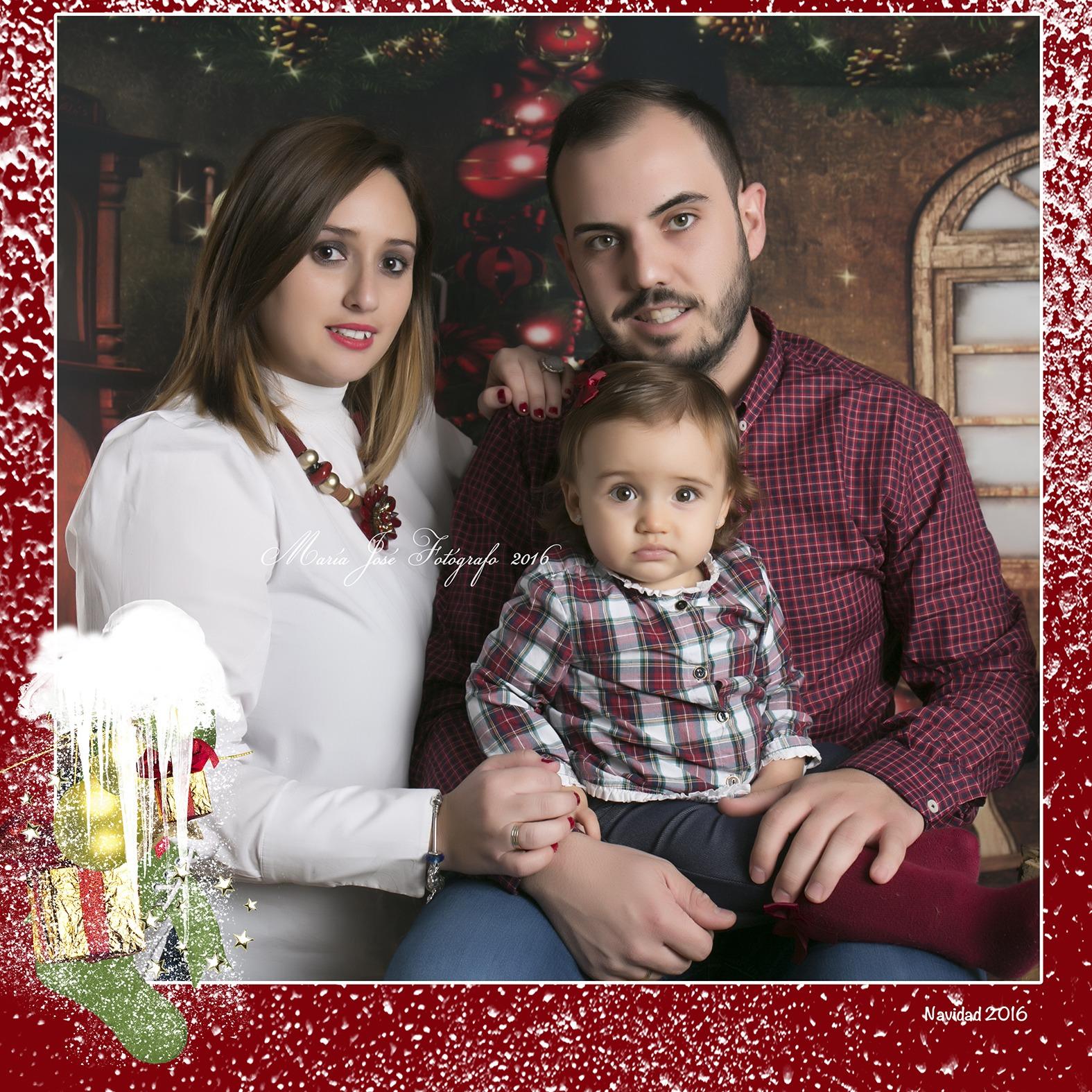 Daniela y sus papás